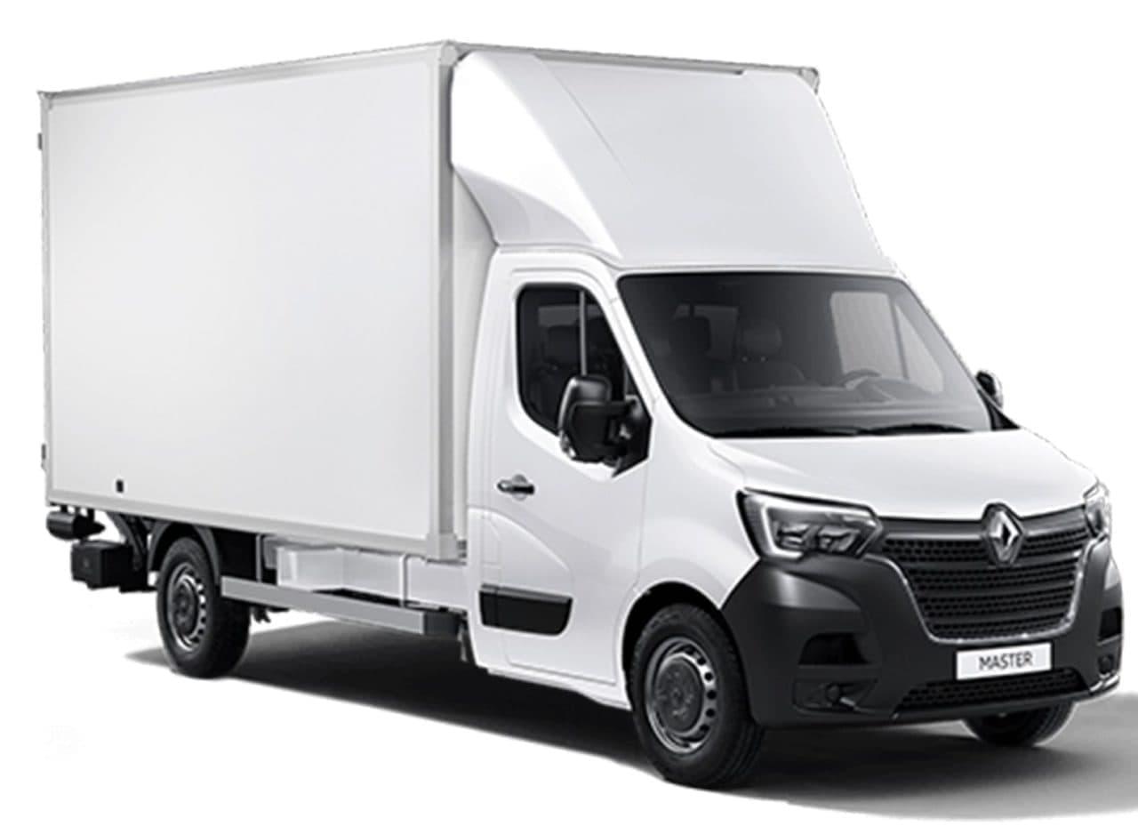 Skriňová dodávka Renault Master prenájom