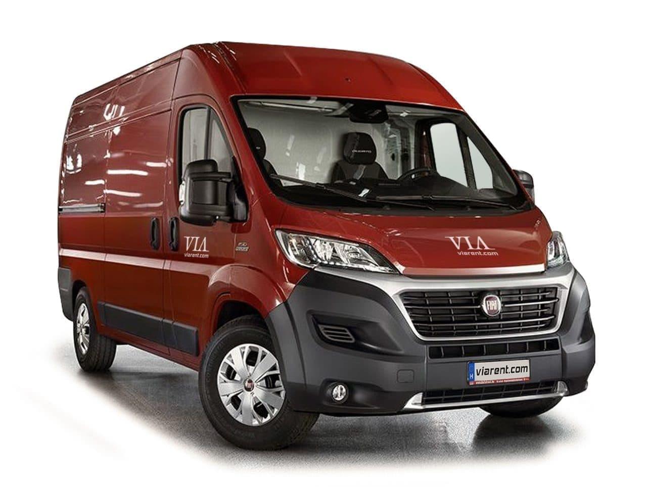 Dodávka Fiat Ducato prenájom