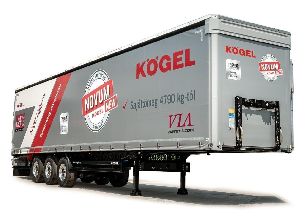 Plachtový náves Kögel Light Plus prenájom