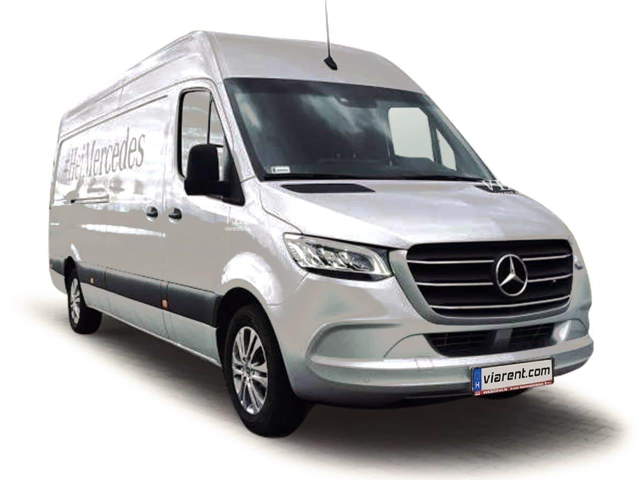 Dodávka Mercedes-Benz Sprinter prenájom