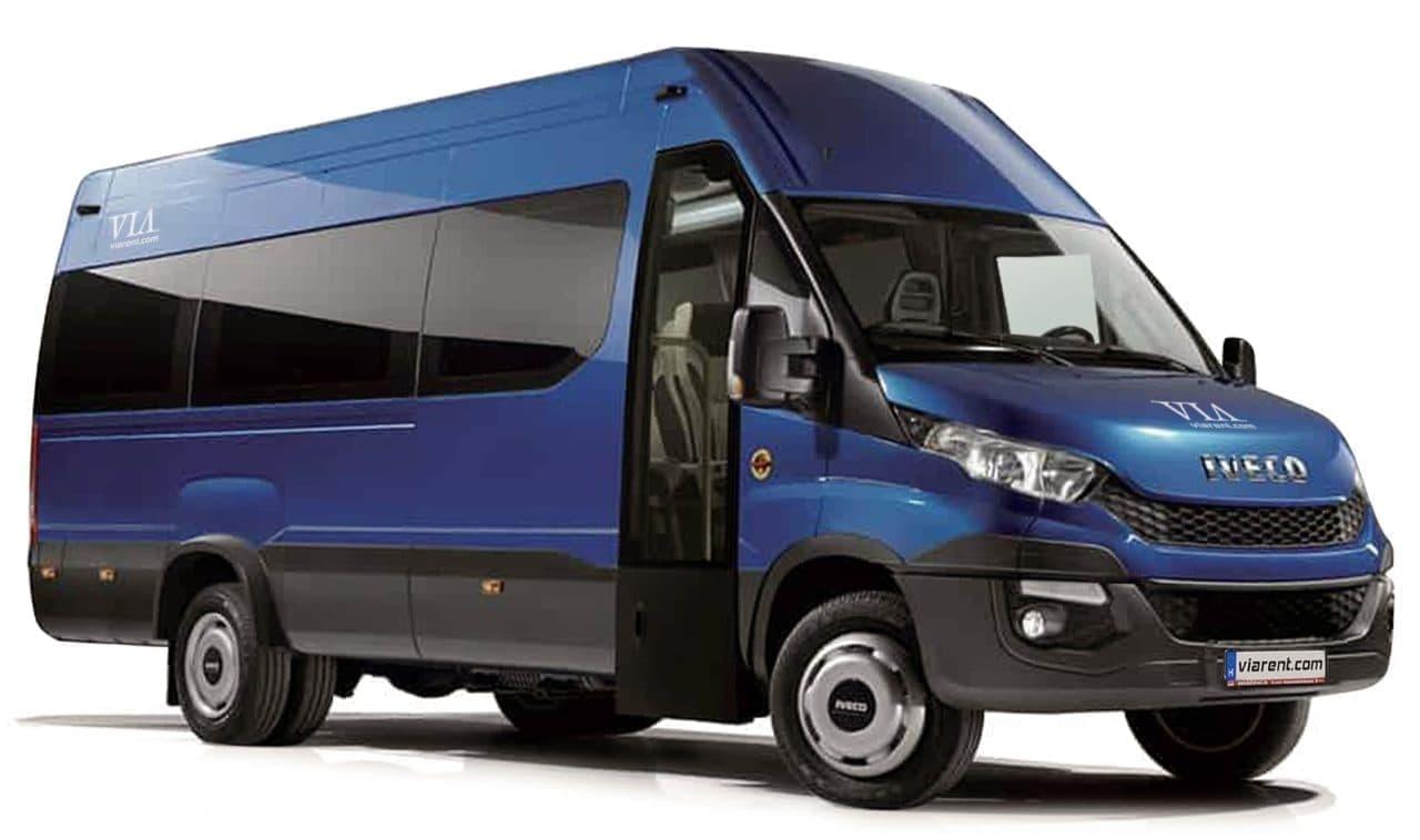 Mikrobus Iveco Daily 50C15 prenájom