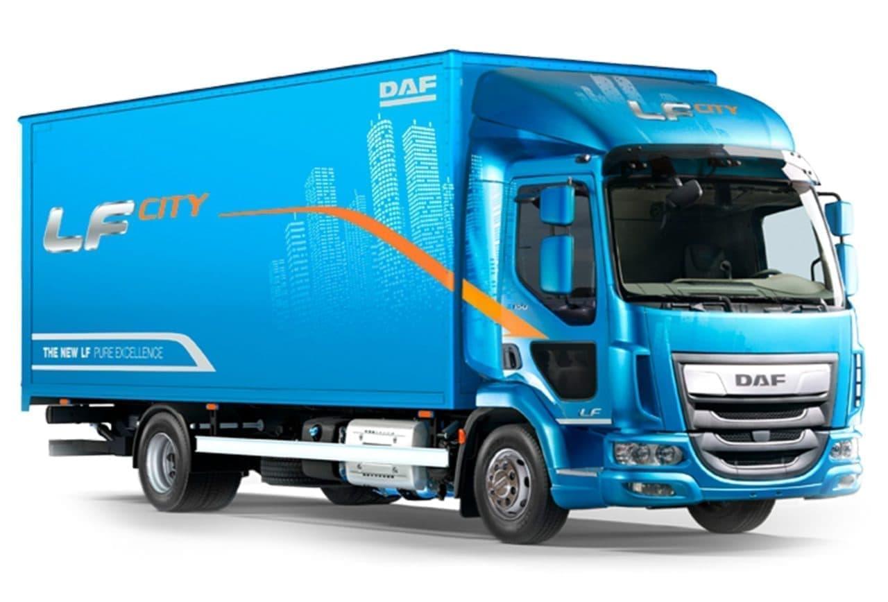 Skriňové nákladné auto DAF LF prenájom