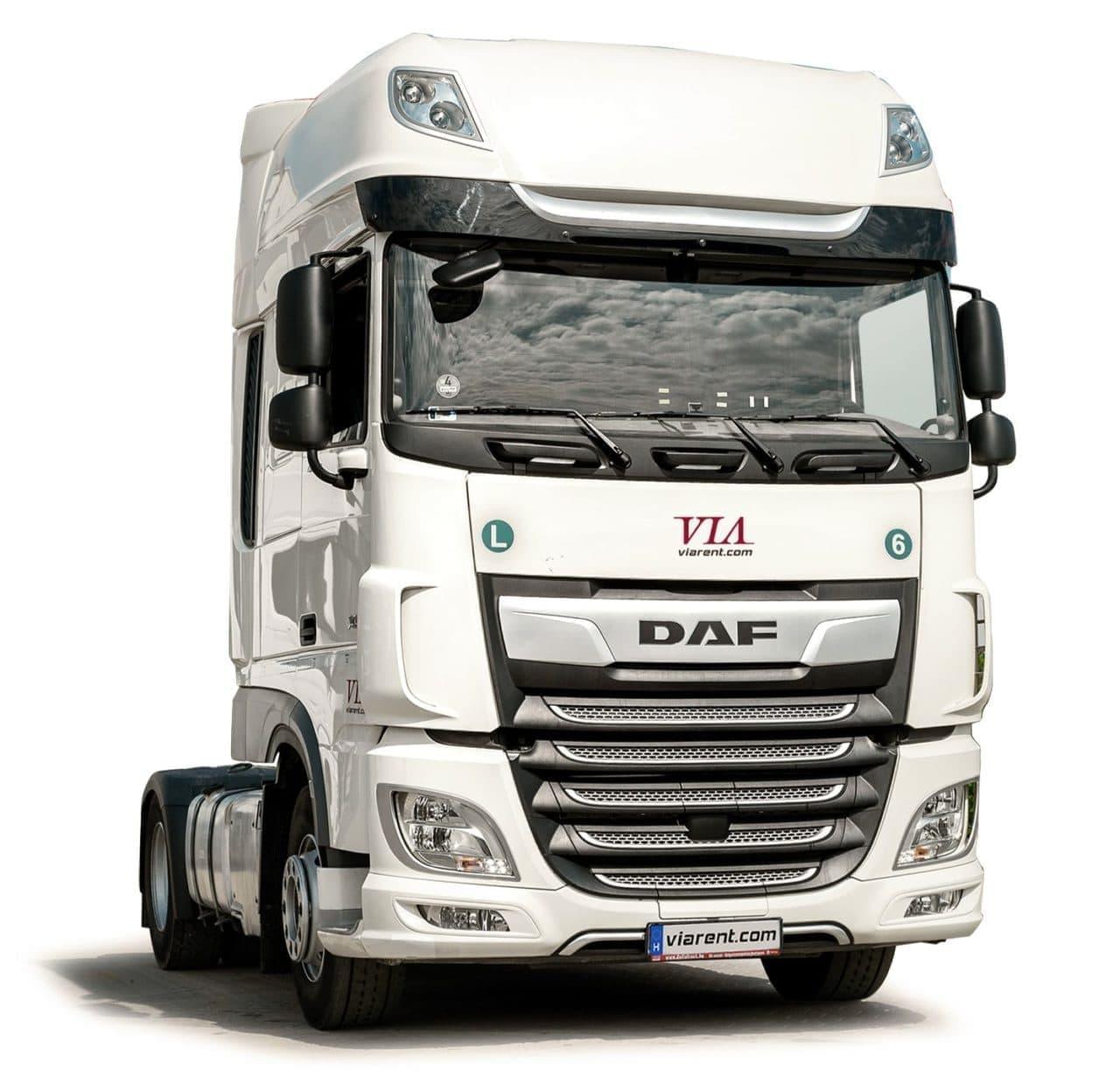 Štandardný ťahač DAF XF 480 prenájom