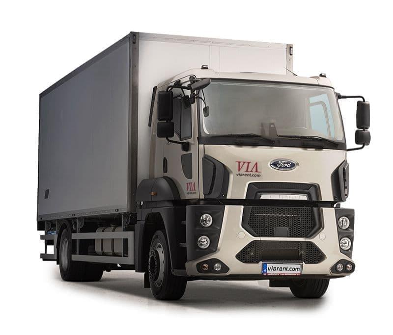 Skriňový nákladný automobil Ford Trucks 18-26 t prenájom