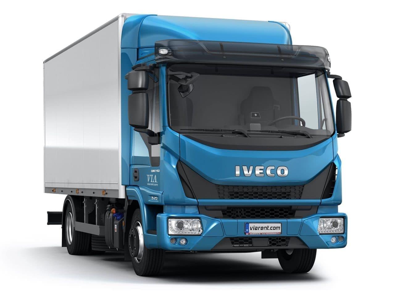 Skriňové nákladné auto IVECO EuroCargo prenájom