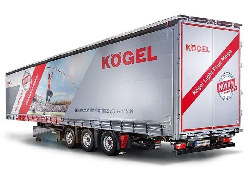 Plachtový náves Kögel Light Plus Mega prenájom