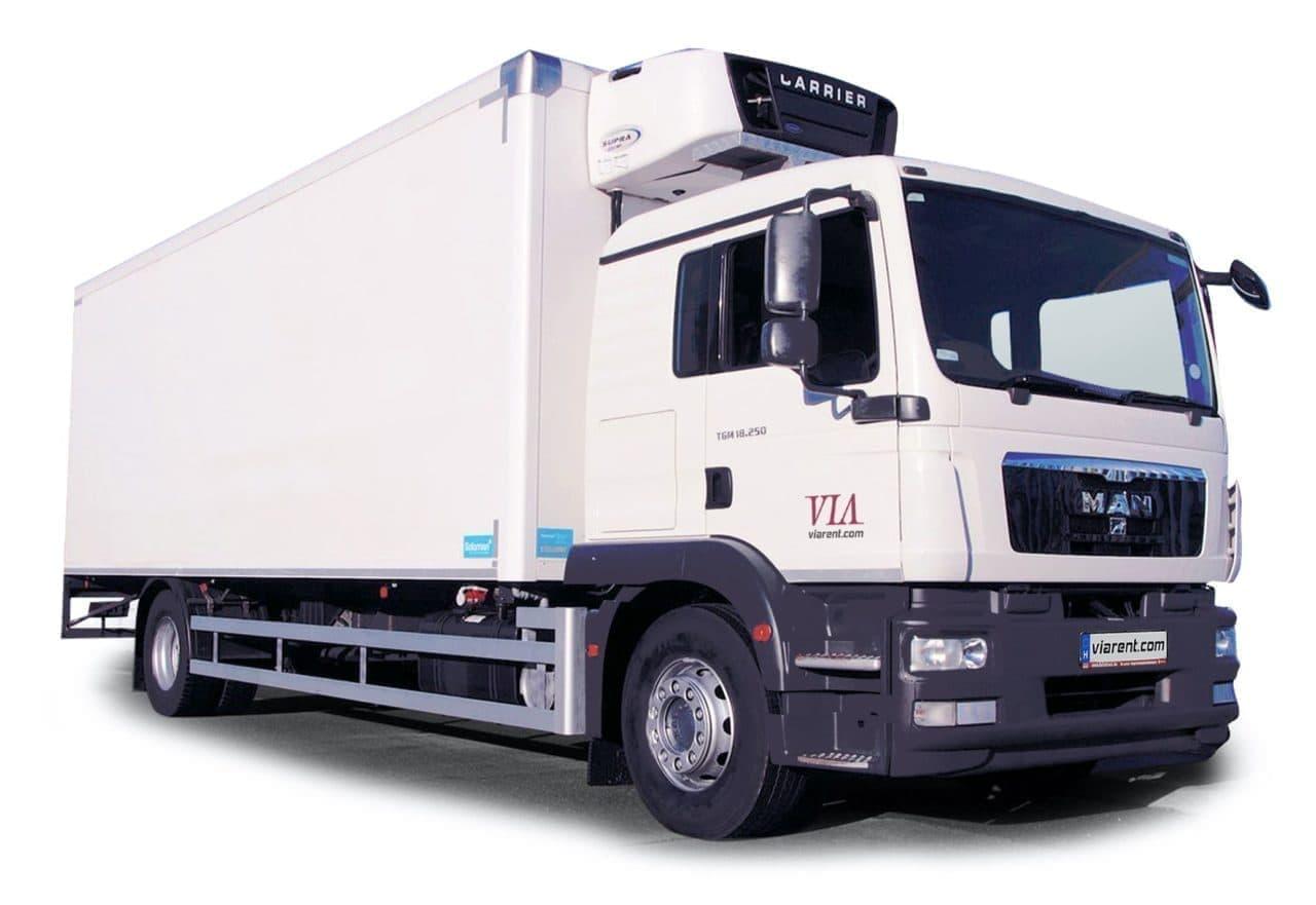 Chladiarenské nákladné vozidlo MAN TGM a MAN TGL prenájom