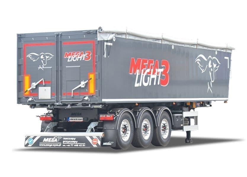 Výklopný náves MEGA Light 3 KD prenájom