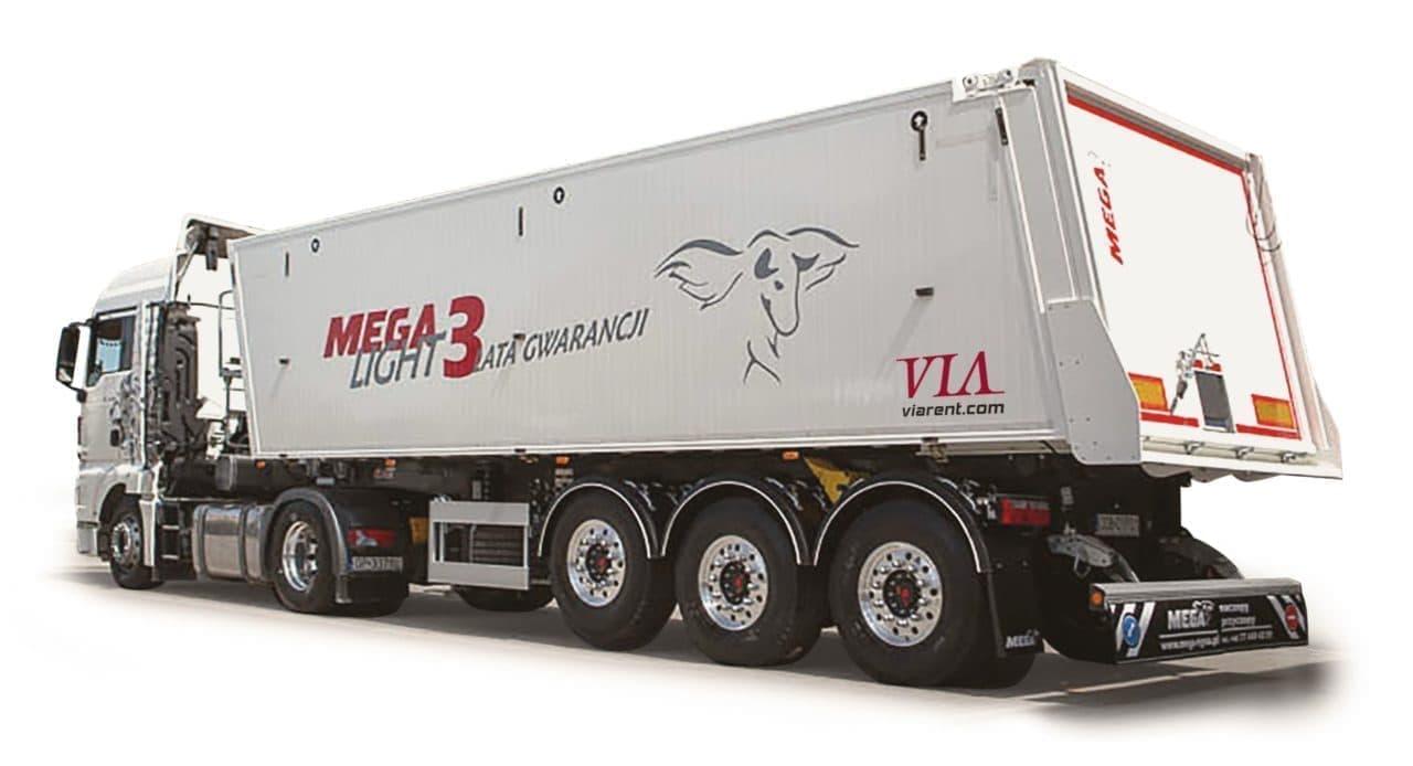 Vyklápací náves MEGA Light 3 KBZ / KZZ prenájom