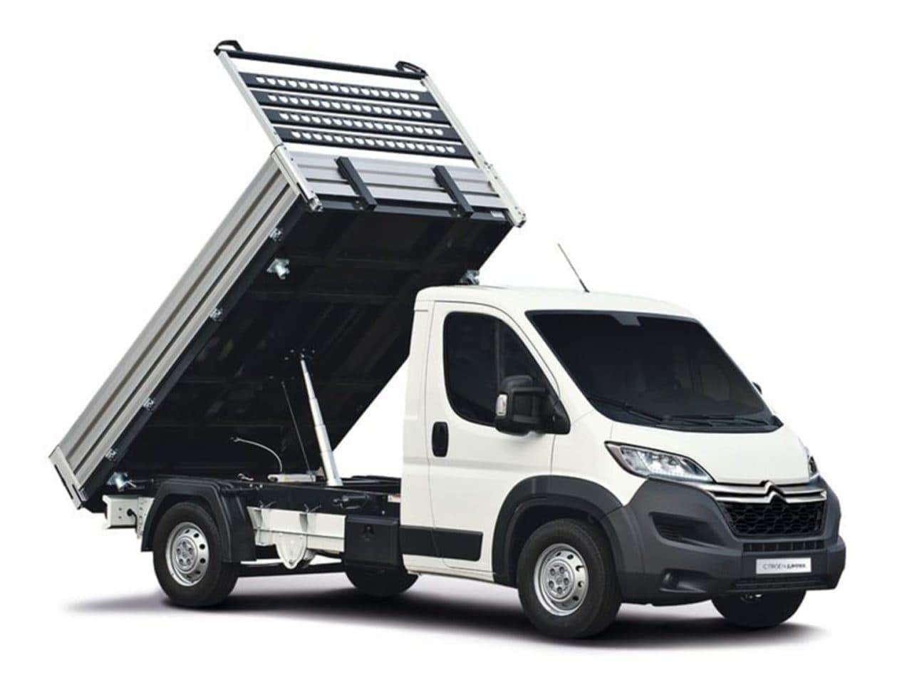Vyklápacia dodávka Citroën Jumper prenájom