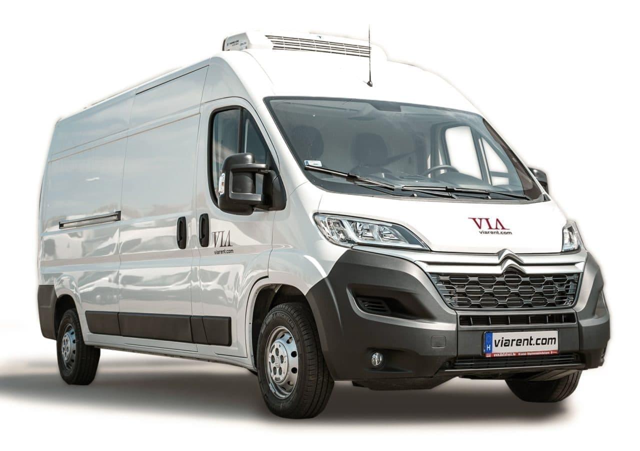Chladiarenská dodávka Citroën Jumper prenájom
