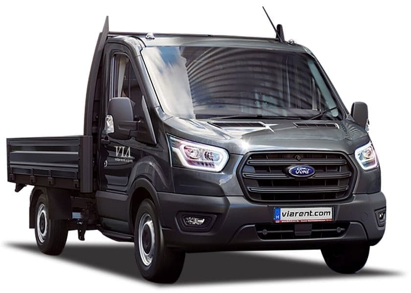 Plachtová dodávka Ford Transit prenájom