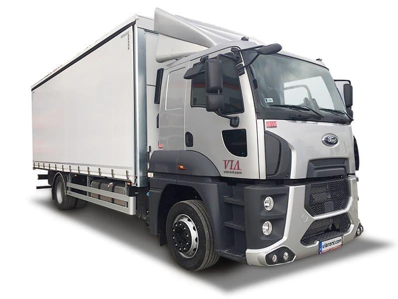 Plachtové nákladné auto Ford Trucks 18-26 t prenájom