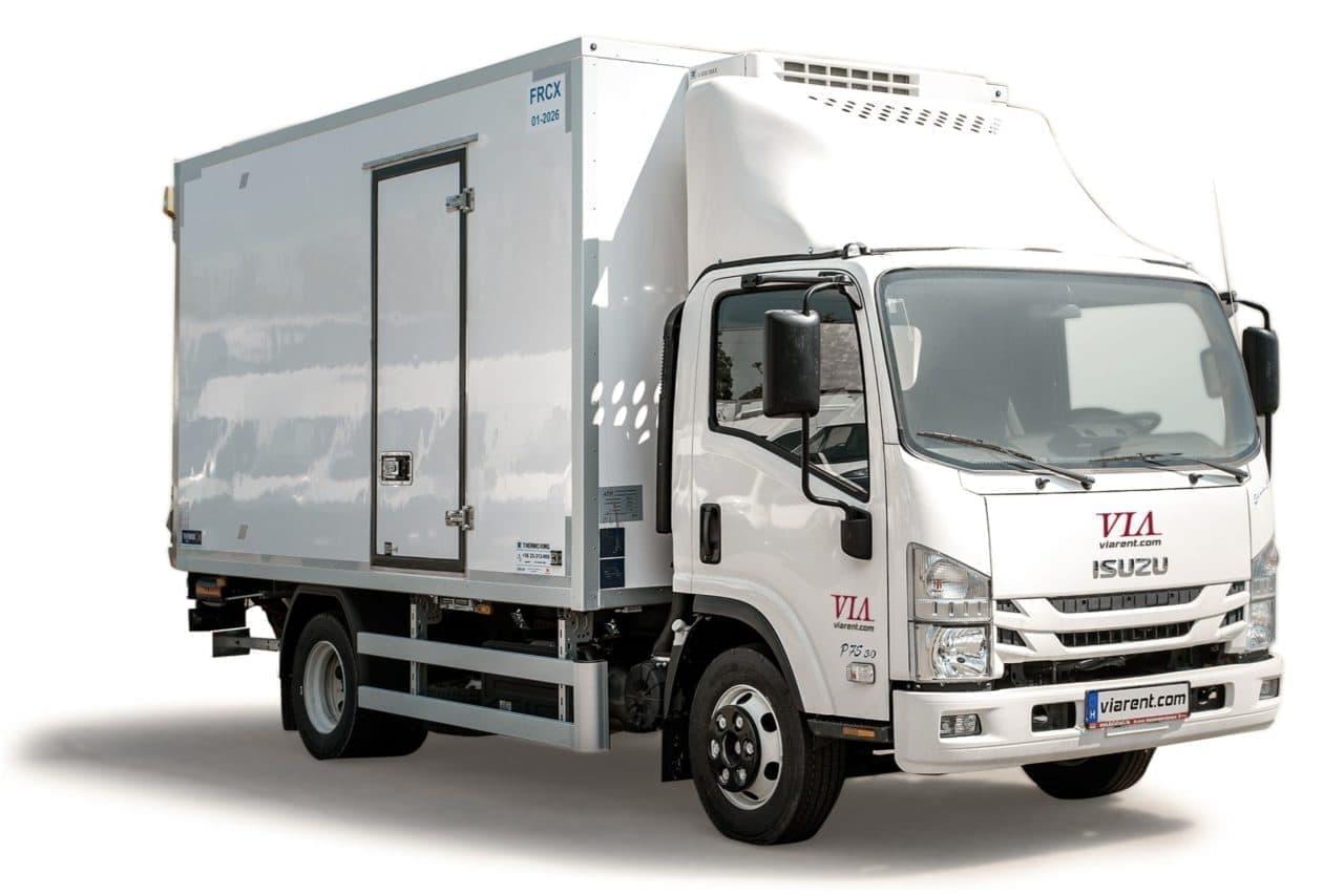 Chladiarenské nákladné auto ISUZU 5,5-14 prenájom