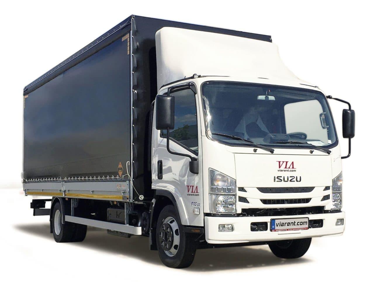 Plachtové nákladné auto ISUZU 5,5-14 prenájom