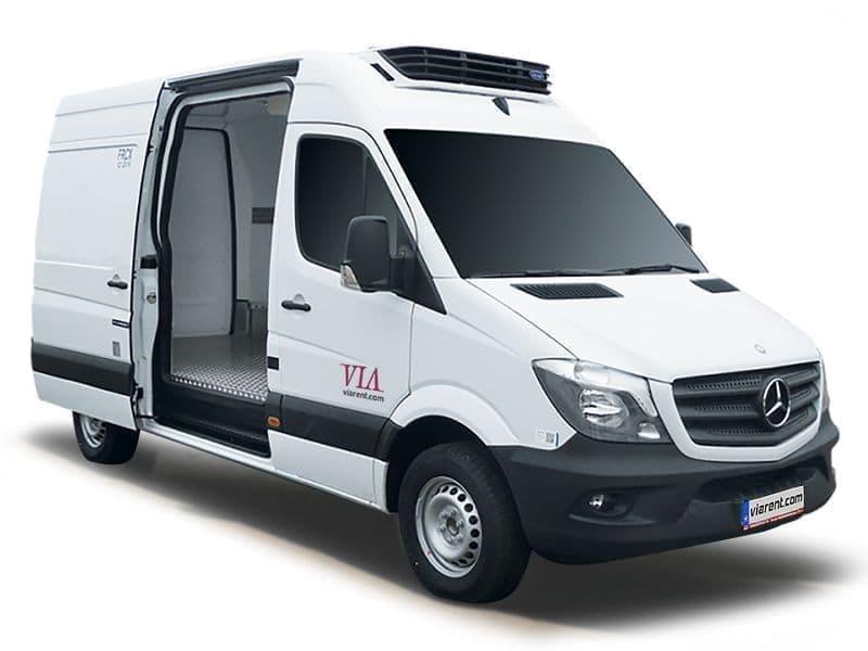 Chladiarenská dodávka Mercedes-Benz Sprinter prenájom