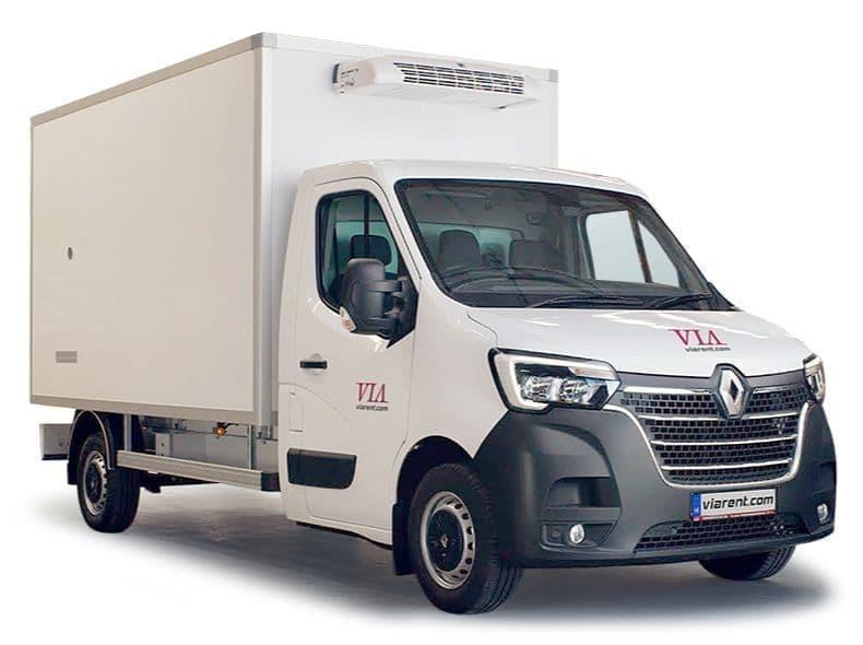 Chladiarenská dodávka Renault Master prenájom