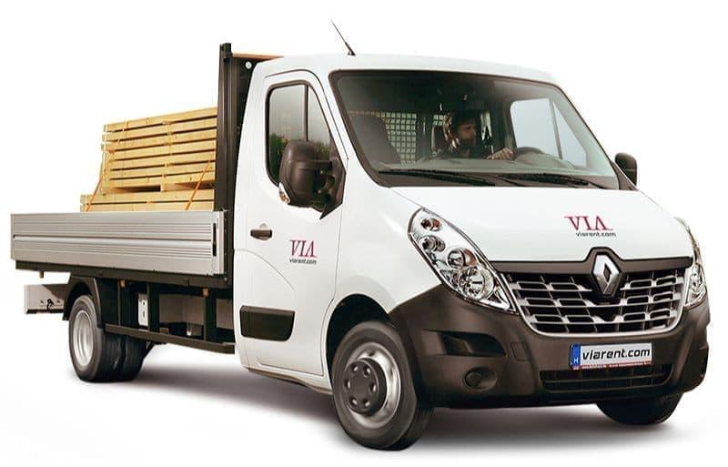 Plachtová dodávka Renault Master prenájom