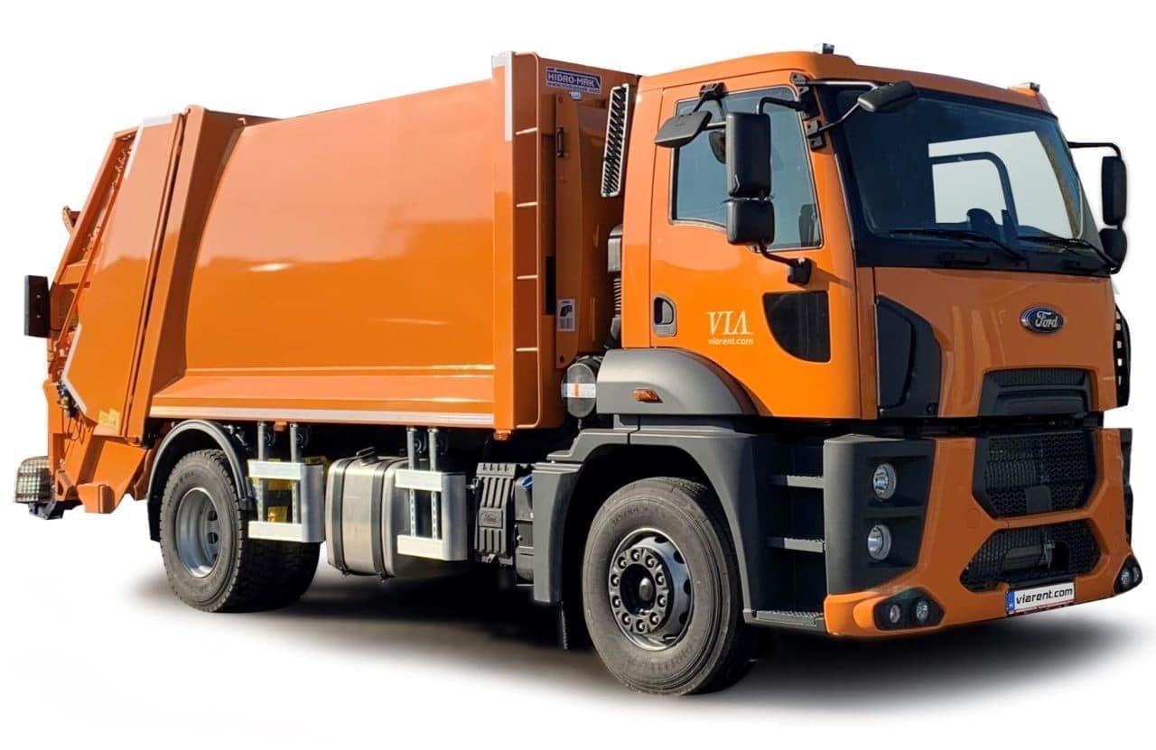 Smetiarske auto - Ford Trucks 1833DC prenájom